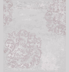 classic pattern vintage beautiful ornament vector image