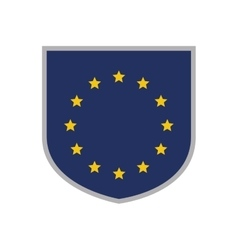 Emblem of the European Union vector