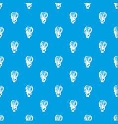 Floodlight pattern seamless blue vector