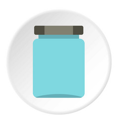 Jar icon circle vector
