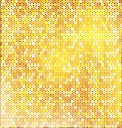 Luxury golden pattern with mixed small spots vector image
