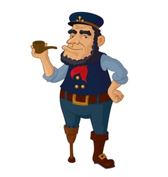 Old Seaman vector image