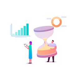 performance management concept businessman vector image