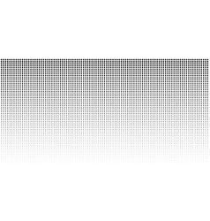 Vertical gradient halftone dots background vector