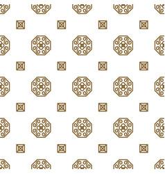 japan kimono inspired seamless pattern in vector image