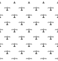 Military plane pattern simple style vector image