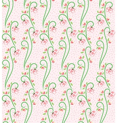 Swirl Nature Butterfly Pattern 3 vector image vector image