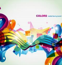 colorful celebration vector image