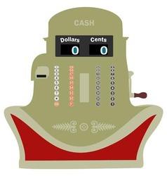 Smiling Cash Register vector image