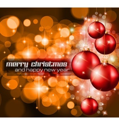 Christmas Background with a lot of ray lights vector