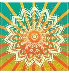 Mandala Card 4 vector