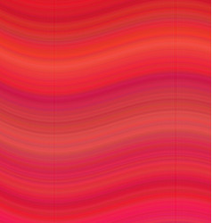 Red smooth wave background vector