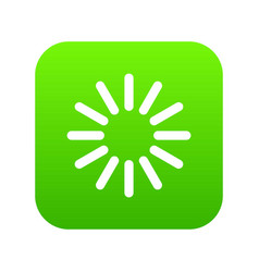 sign waiting download icon digital green vector image