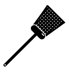 swatter icon simple black style vector image