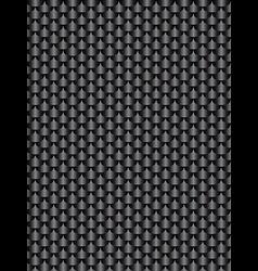 Brushed metal aluminum black dark flake texture vector image