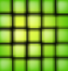 green rectangle vector image vector image