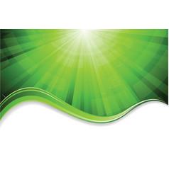 vector green background vector image