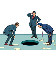 Businessmen and problem finding best vector