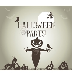 Halloween Party banner vector