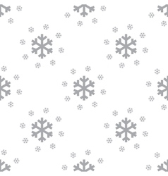 New Snow seamless pattern vector image