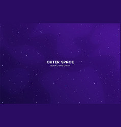 Night sky space futuristic colorful background vector