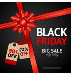 Poster of black friday sale vector