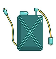pulverizer icon cartoon style vector image