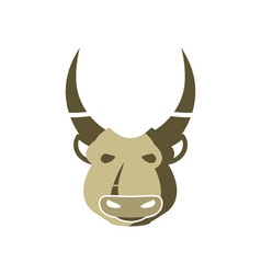 Indian-Bull-380x400 vector image vector image