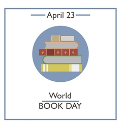 World Book Day vector image