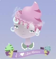 ice cream dream vector image