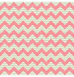 Zigzag pattern seamless chevron background vector image