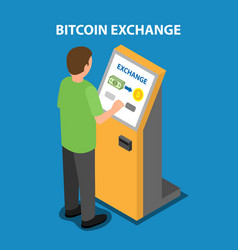 Bitcoin exchange in the payment terminal vector
