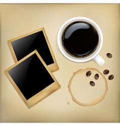 Coffee and Photos vector