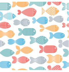 Cute fiches seamless background seamless pattern vector