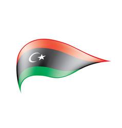libya flag vector image