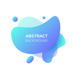 modern futuristic cover element template vector image