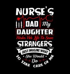 T-shirts designvintage nurse emblems nurse label vector