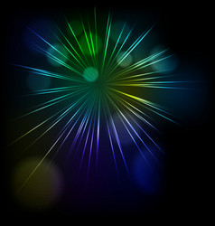 Abstract star burst background vector image vector image