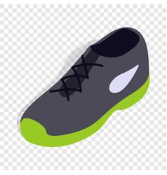 tennis shoe isometric icon vector image vector image