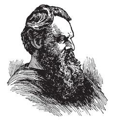 james thomas fields vintage vector image vector image