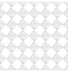 Hand drawn geometric seamless pattern vector image