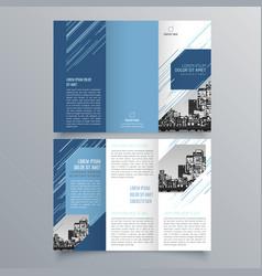 brochure design 878 vector image