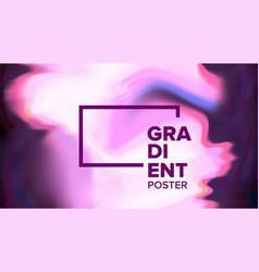 gradient fluid background modern sreen vector image