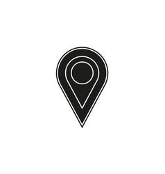 map pointer map pin map gps icon - arrow pin vector image