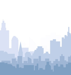 Morning cityscape vector