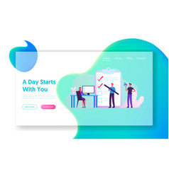 Scheduling inspiration creative process website vector
