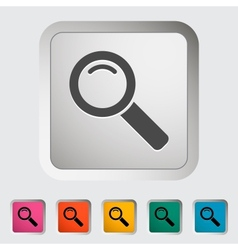 Search single icon vector