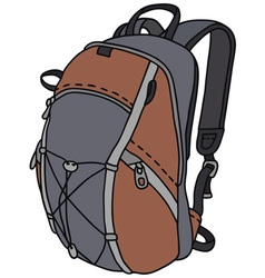 The rucksack vector