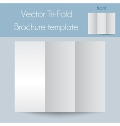 Tri-foldSpa BrochureMock Up vector image