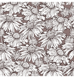 marguerite seamless vector image